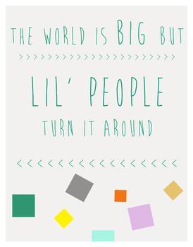 Little People Art Prints