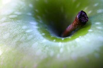 macro apple Art Prints
