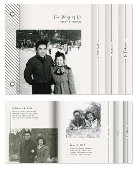 The Story of Us Minibook Cards