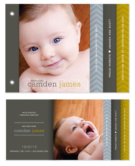 minibook cards - Worth Our Wait by Jennifer Postorino