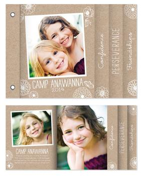 Girly Girl Minibook Cards