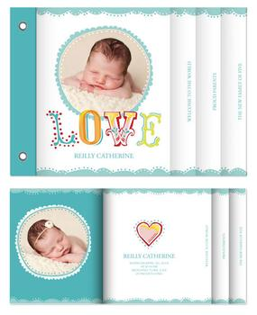 Doodle Baby Love Minibook Cards