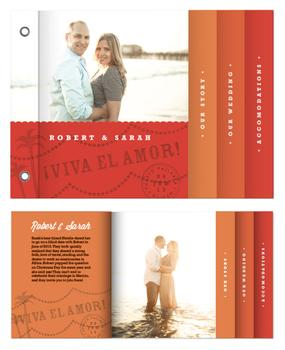 Tequila Sunrise Minibook Cards