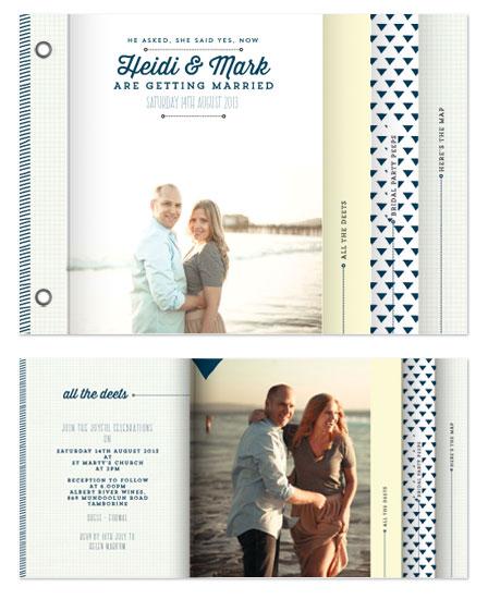 minibook cards - Love Triangle by Jordan Bariesheff