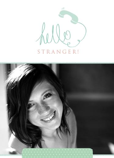 greeting card - Hello Friend by Jordan Bariesheff