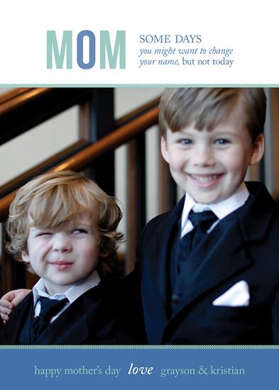 greeting card - mom, mom, mommy by Carol Fazio