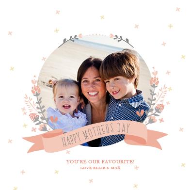 greeting card - Our Favourite Mum by Jordan Bariesheff