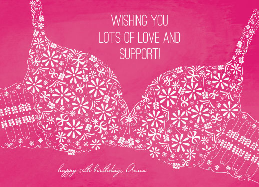 greeting card - Wishing Love and Support by tracey atkinson