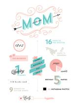 Mother's Day InfoChart by Lori Wemple
