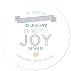 Celebrate with joy in your heart
