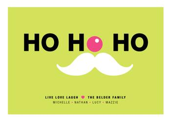 live love laugh Non-Photo Holiday Cards