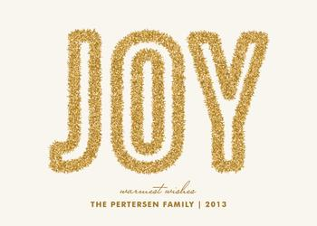 Tinsel Joy Non-Photo Holiday Cards