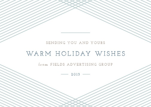 business holiday cards - Diamond by Amber Barkley