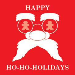 Simply Santa Non-Photo Holiday Cards