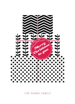 pattern gifts Non-Photo Holiday Cards