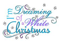 Dreaming Of A White Chr... by Olivia A Kneibler