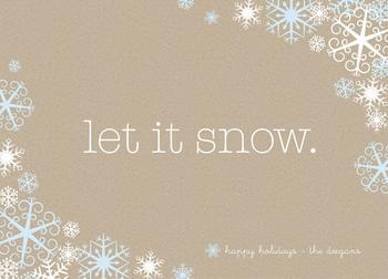 Crafty Snowfall