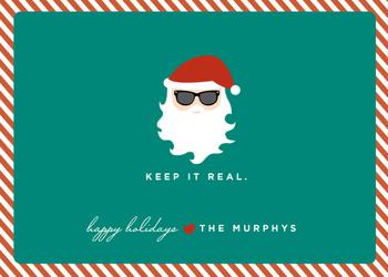 Keep It Real Non-Photo Holiday Cards