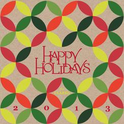 Patterned Holidays Non-Photo Holiday Cards