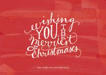 Merriest of Christmases by Paper Lovely