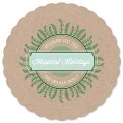 Happiest Holidays Non-Photo Holiday Cards