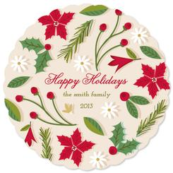 Christmas Potpourri Non-Photo Holiday Cards