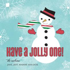 Have a Jolly One Non-Photo Holiday Cards