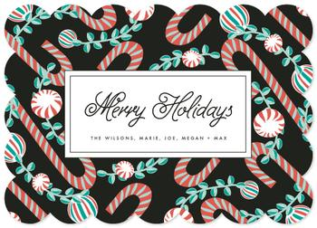 Merry Holidays Non-Photo Holiday Cards
