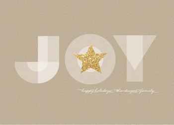 Glittering Joyous Star