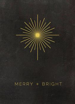Star Bright Non-Photo Holiday Cards