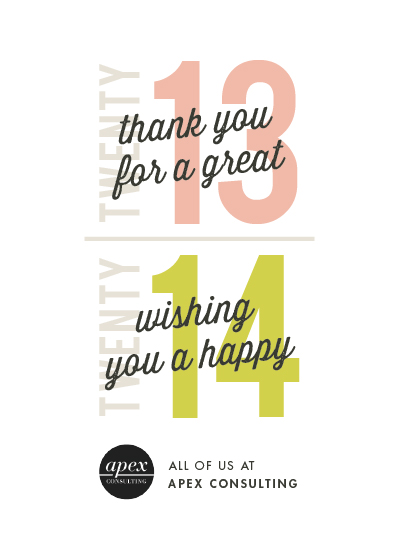 business holiday cards - Old New Year by Snow and Ivy