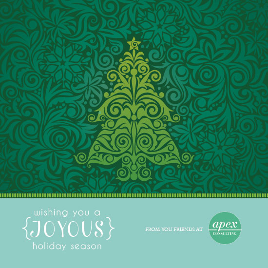 business holiday cards - Ever Joyous by Sara Batman
