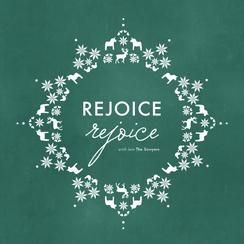 Rejoice Rejoice Non-Photo Holiday Cards