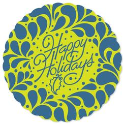 Holiday swirl