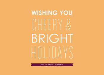 Cheery & Bright