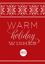 Warm Holiday Wishes by la de dahm