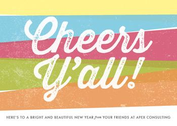 Southern Cheers Business Holiday Cards