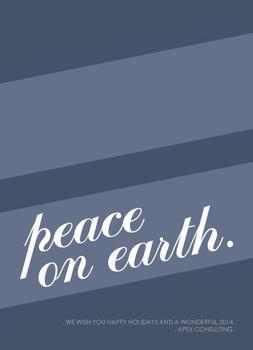 Peace on Blue
