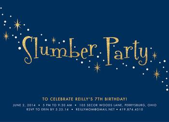 Sparkling Slumber Party