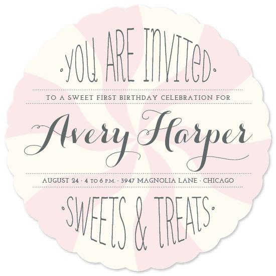 party invitations - Sweet Celebration by Leslie Ann Jones