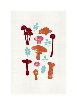 Mushroom World Art Prints