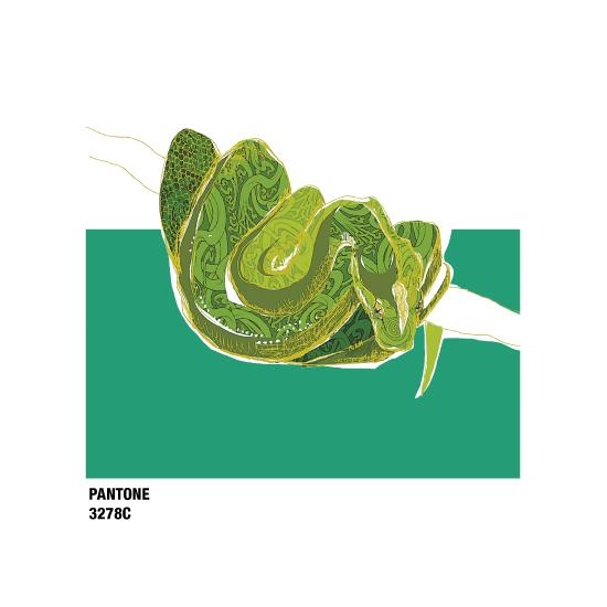art prints - Emerald 3278C by Kristine Hickcox