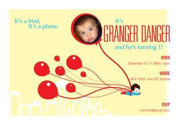 Granger Danger Super Hero Party
