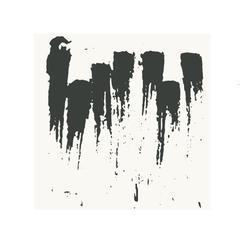 Ink Blotches Art Prints