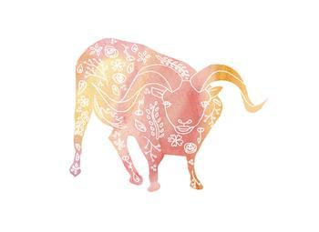 Tattooed Pink Ram