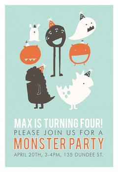 Little Monster Birthday