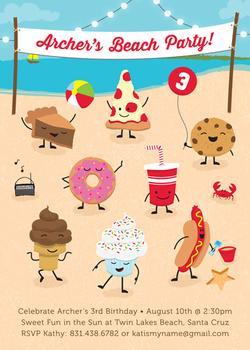 Sweet Beach Party