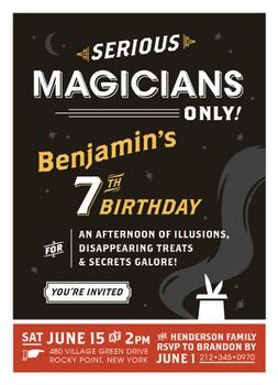 Serious Magicians Only!