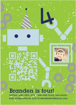 Boy Bot Birthday