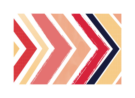 art prints - bold chevron 2 by Anupama